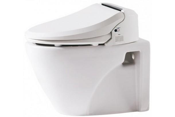 Pack WC suspendu avec abattant Japonais
