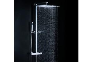 Combiné douche dôme pluie carré YOD
