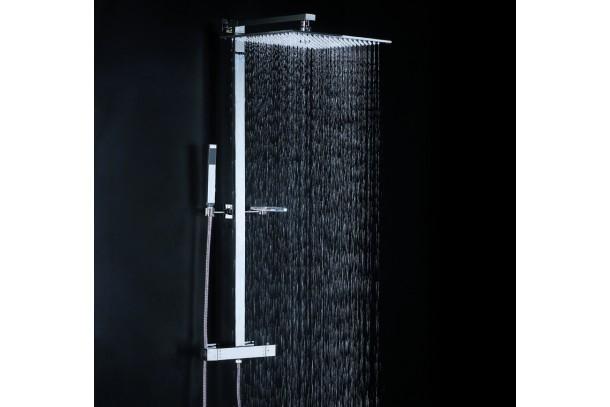 Combiné douche pluie carrée YOD ambiance douche