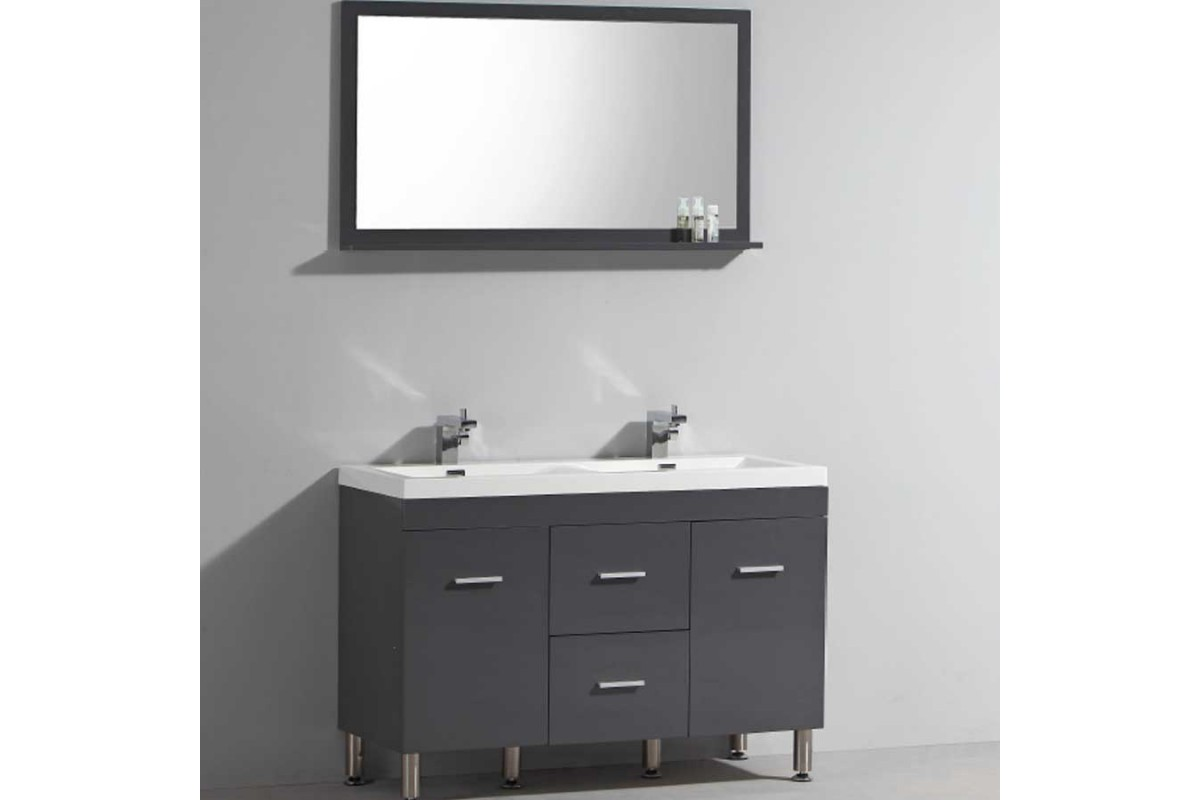 miroir salle de bain avec tablette. Black Bedroom Furniture Sets. Home Design Ideas
