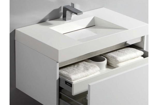 Meuble de salle de bain CUBIK detail