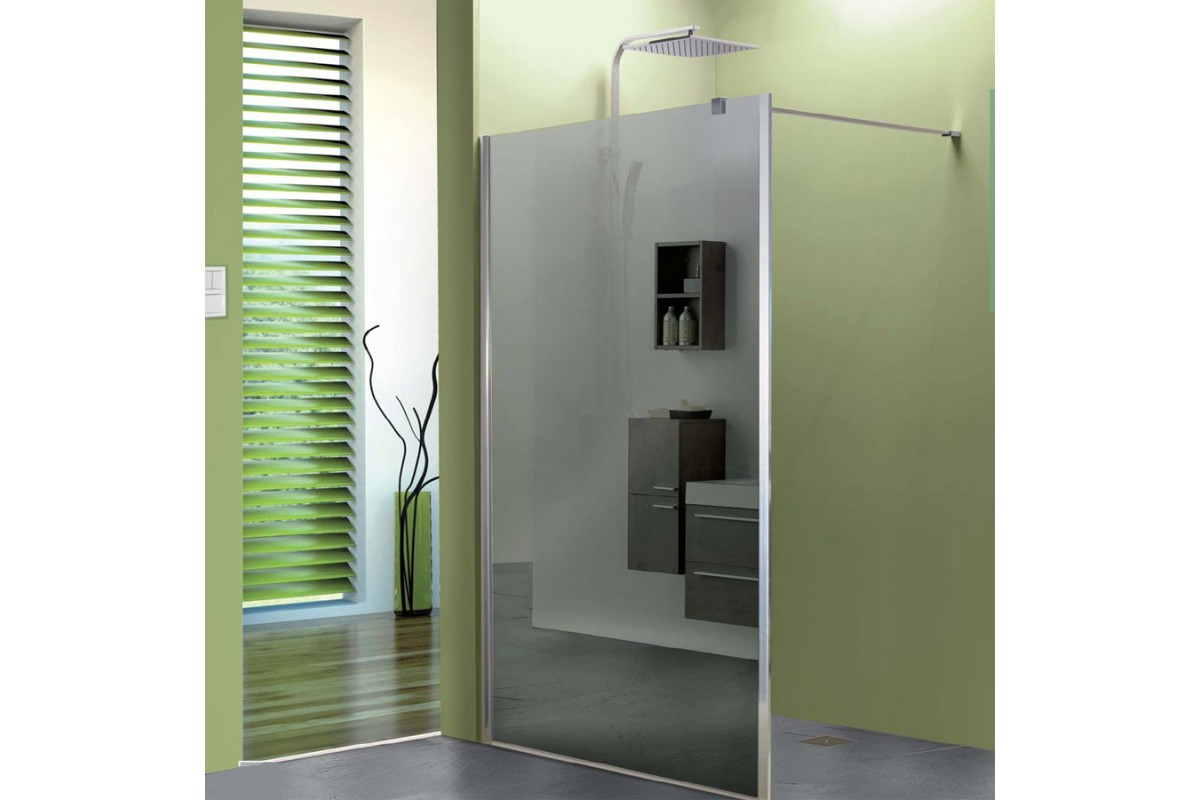 Douche l 39 italienne paroi double ou simple entr e h 190 for Porte de douche a l italienne