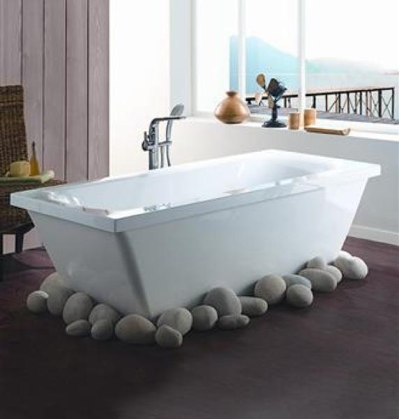Baignoire moderne pas cher baignoire d angle castorama - La baignoire poitiers ...