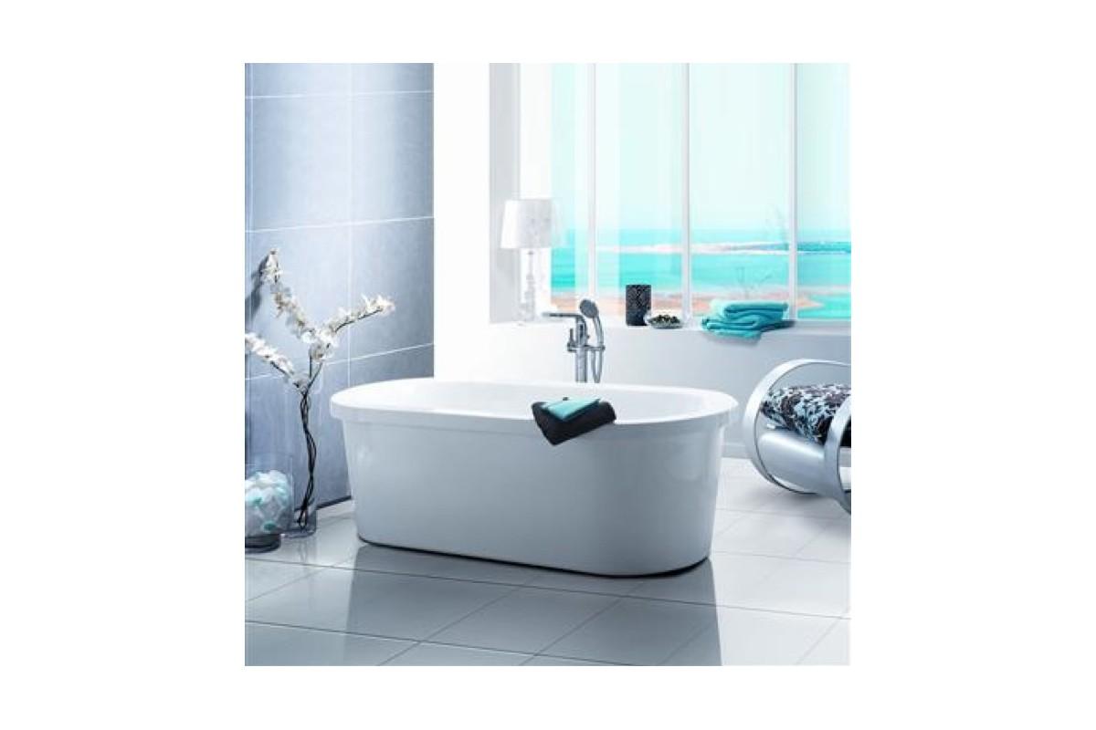 Baignoire lot media en acrylique marque nabis sanitaire for Marque de baignoire