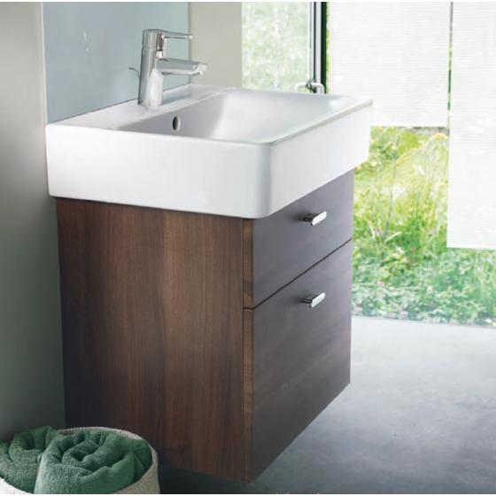 meuble de salle de bain suspendu connect cube 550mm. Black Bedroom Furniture Sets. Home Design Ideas