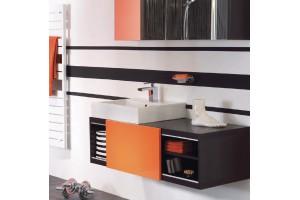 Meuble salle de bain sans vasque SWIFT - 1 porte