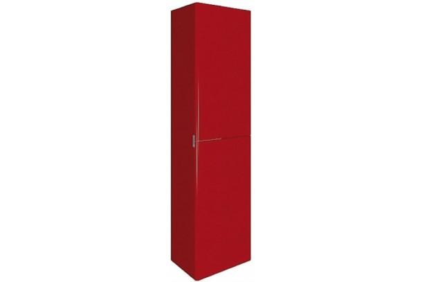 Colonne de salle de bain 2 portes NICE 160cm rouge