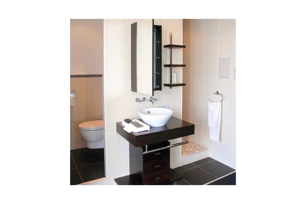 Vasque ronde en c ramique blanche bol for Ma salle de bain design