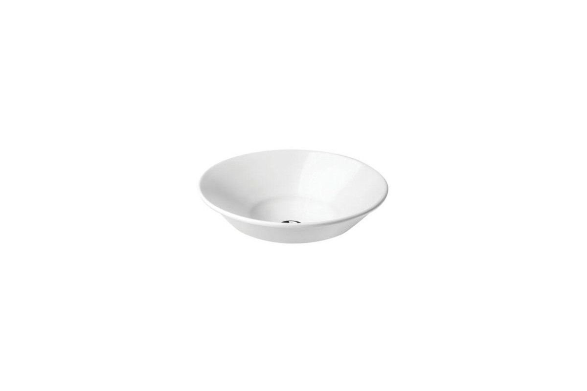 vasque en c ramique blanche manosque ronde. Black Bedroom Furniture Sets. Home Design Ideas