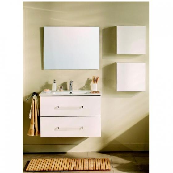 meuble salle de bain pep 39 s 80 cm simple vasque. Black Bedroom Furniture Sets. Home Design Ideas