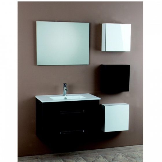 meuble salle de bain pep 39 s 80 cm simple vasque. Black Bedroom Furniture Sets. Home Design Ideas