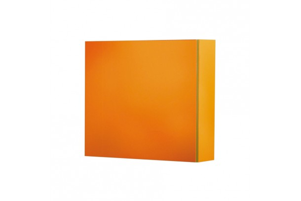 Cube de rangement PEP'S 40x40x15 cm orange