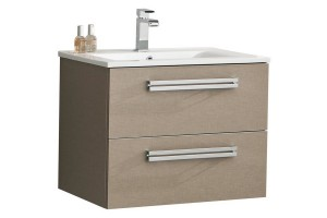 Meuble salle de bain ORZO 60 suspendu compact