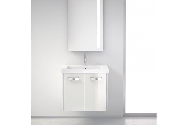 Meuble salle de bain 62 cm EASY portes