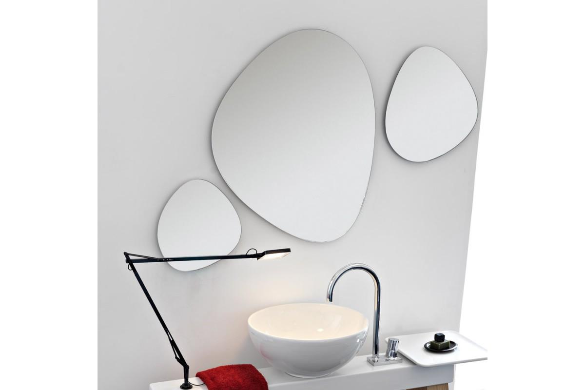 Jeu de 3 miroirs pour meuble cavalletto artceram - Accessoires pour salle de bain design ...