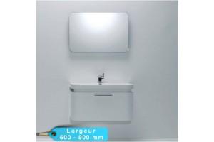 Ens meuble de salle de bain LUGO avec miroir