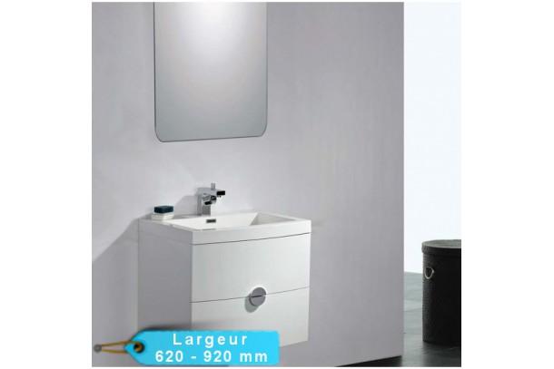 Kit meuble de salle de bain NYSKA avec miroir