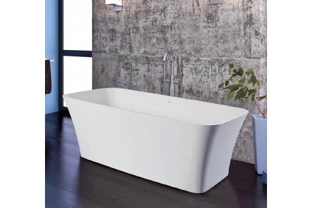 baignoire ilot design oceane en solid surface blanc. Black Bedroom Furniture Sets. Home Design Ideas