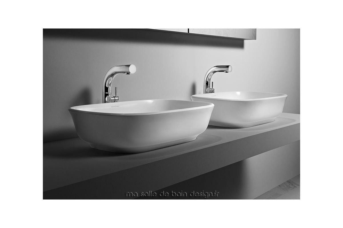 vasque poser rectangulaire amiata 60 par victoria albert. Black Bedroom Furniture Sets. Home Design Ideas