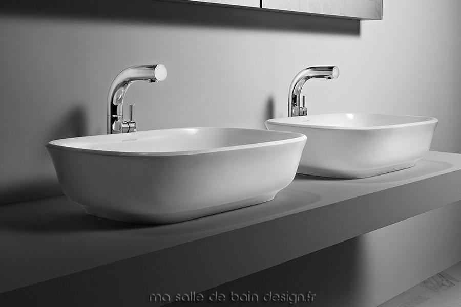 Vasque à poser rectangulaire Amiata 60 par Victoria + Albert