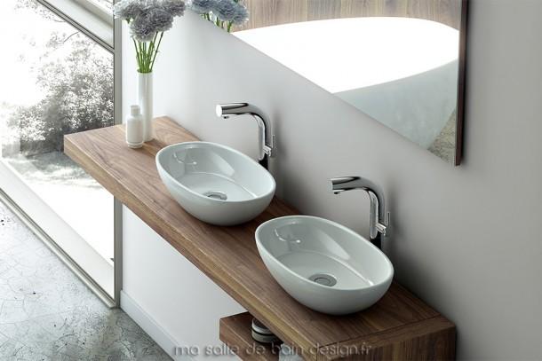 Vasque pour salle d'eau moderne, qualité de fabrication exceptionnelle