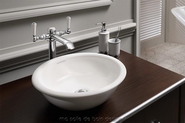 vasque poser ovale cabrits 55 par victoria albert. Black Bedroom Furniture Sets. Home Design Ideas