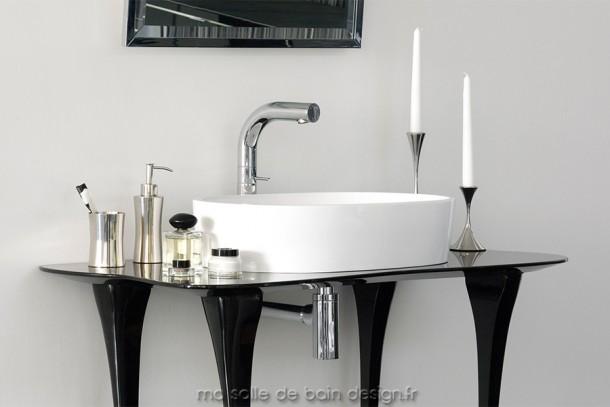 IOS 54, vasque ovale à poser pour salle de bains, par Victoria + Albert