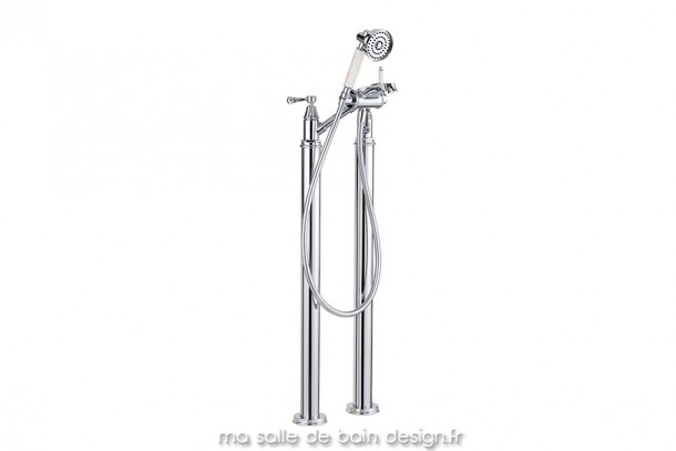 Mélangeur de bain sur colonnes avec douchette Florin 26