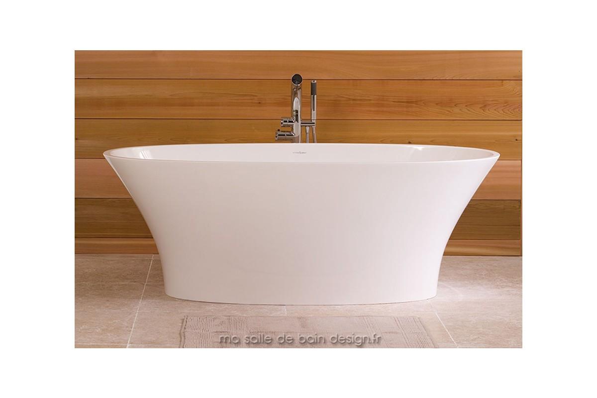 Baignoire ilot moderne ionian de la marque victoria albert for Marque de baignoire