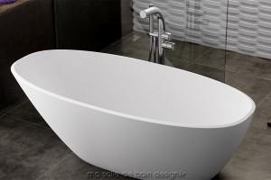 Baignoire ilot design baignoire acrylique fonte acier for Baignoire petite largeur