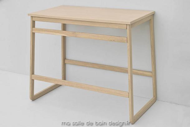 meuble sans vasque en ch ne naturel ou blanchi slitta d 39 artceram vente sur. Black Bedroom Furniture Sets. Home Design Ideas