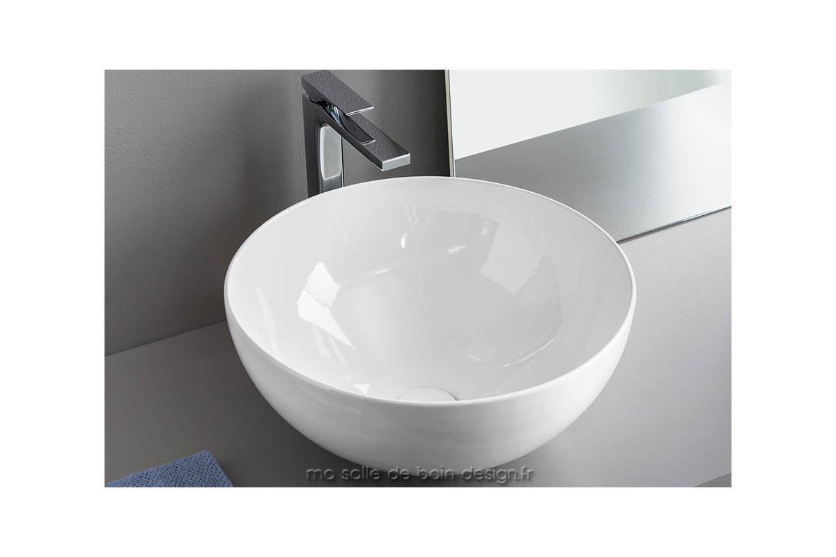 vasque coupelle poser par artceram la ciotola 46 cm de diam tre. Black Bedroom Furniture Sets. Home Design Ideas