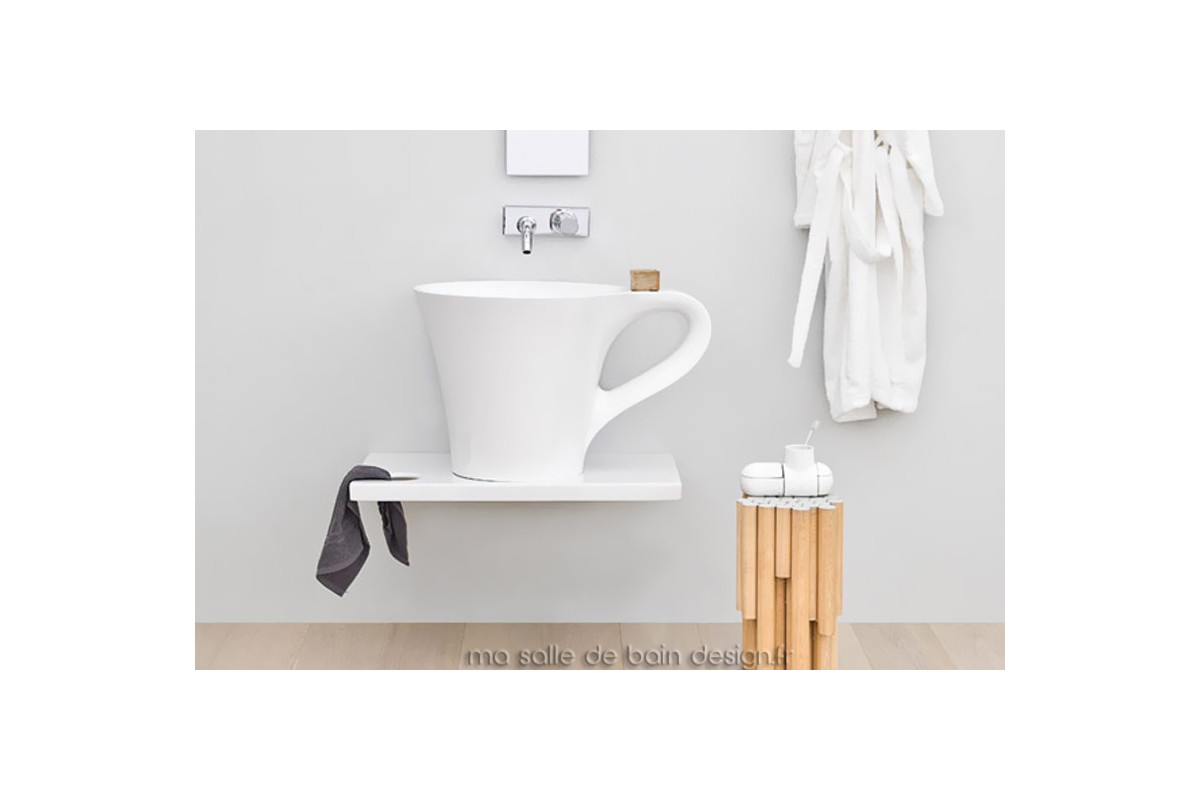 Vasque Design Tasse Caf Cup Blanche DArtceram En Livingtec Solid Surface