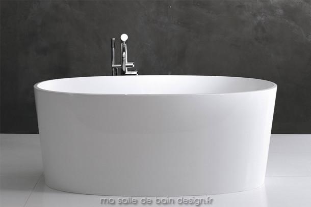 Baignoire ilot moderne aux formes ovales Victoria + Albert