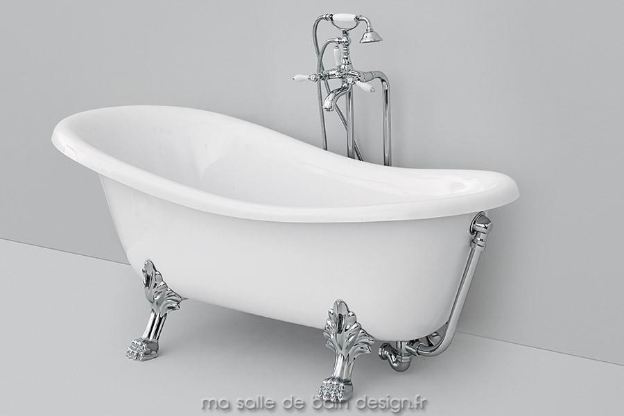 baignoire ancienne sur pieds interesting baignoire en. Black Bedroom Furniture Sets. Home Design Ideas