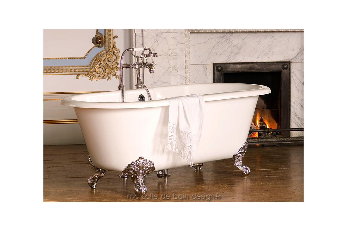 Baignoire ilot r tro cheshire par victoria albert baths - Baignoire style retro ...