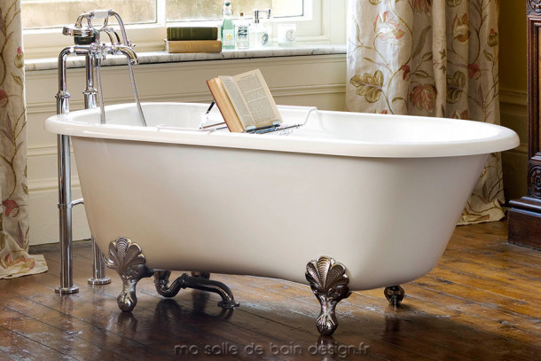 baignoire ilot r tro wessex par victoria albert baths. Black Bedroom Furniture Sets. Home Design Ideas