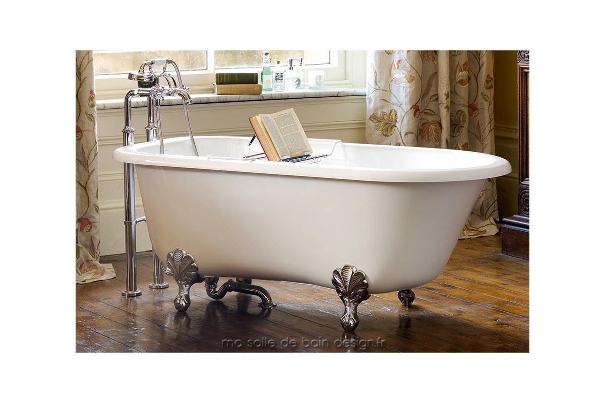 Baignoire ilot r tro wessex par victoria albert baths for Baignoire ilot compacte