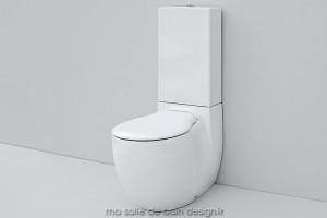 Combiné WC à poser Blend
