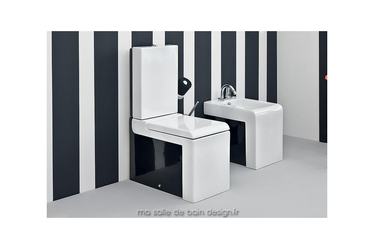 Toilettes céramique à poser design La Fontana par Artceram - En ...