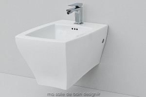 Bidet suspendu design Jazz