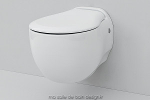 Toilettes suspendues design Blend