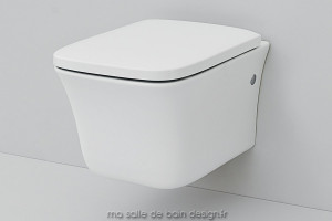 Toilettes suspendues design Cow