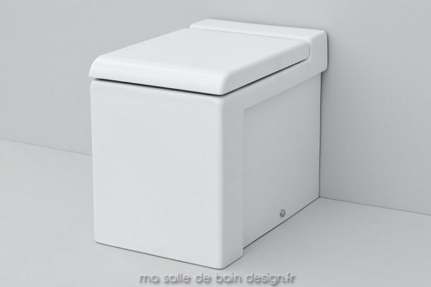 Toilettes à poser design La Fontana 36x54cm d'Artceram
