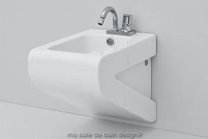 Bidet suspendu design La Fontana