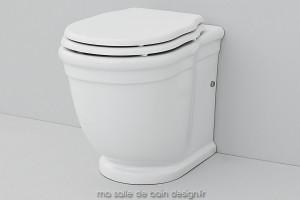 Toilettes à poser rétro Hermitage