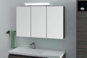 Armoire miroir triple porte AM100