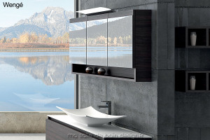 Armoire miroir triple porte AM120
