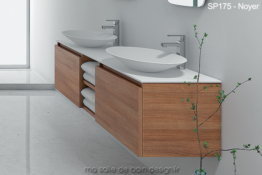 emejing lavabo double vasque retro images. Black Bedroom Furniture Sets. Home Design Ideas