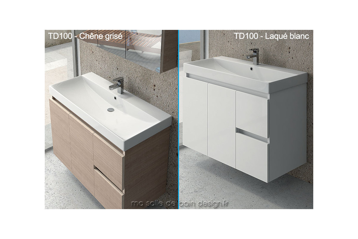 Lavabo suspendu salle de bain for Photo salle de bain